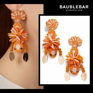 New!🌊Baublebar Beaded Lobster Drop Earrings!